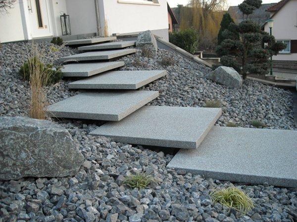Paysagiste palmay escalier for Escalier paysager